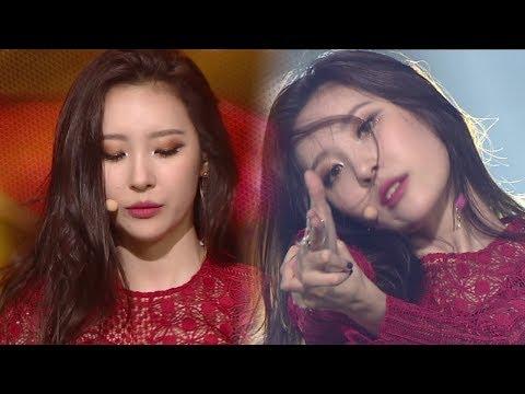 《SEXY》 SUNMI(선미) - Gashina(가시나) @인기가요 Inkigayo 20170903
