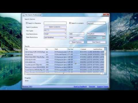 Promotion File Finder Professional