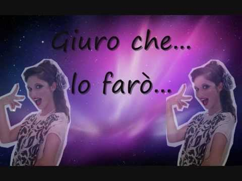 Universo en italiano letra Lodovica Comello