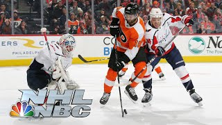 Washington Capitals vs. Philadelphia Flyers | CONDENSED GAME | 11/13/19 | NBC Sports
