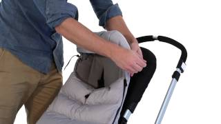 Wonderbaar how to use the bugaboo high performance footmuff - YouTube MN-67