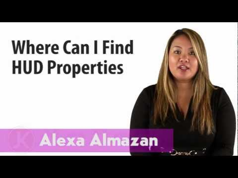 HUD FAQs: Where can I find HUD properties?