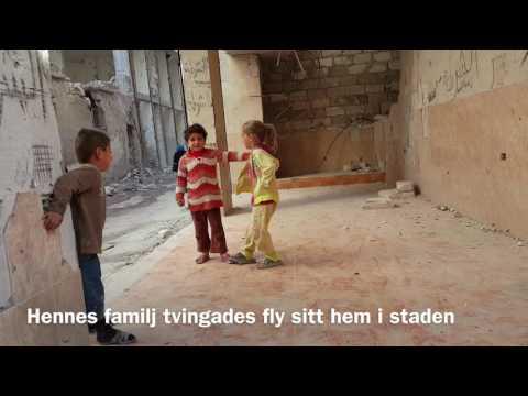 Yousra fortsätter att leka i Aleppo