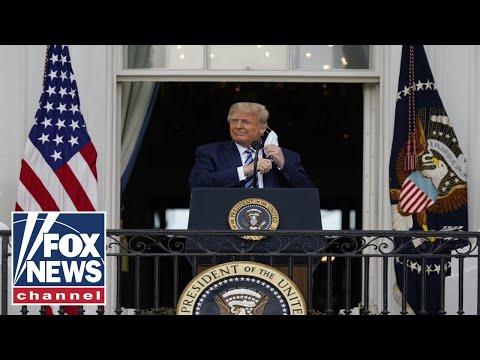 Trump says he no longer has coronavirus and is 'immune'