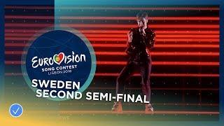Benjamin Ingrosso - Dance You Off - Sweden - LIVE - Second Semi-Final - Eurovision 2018