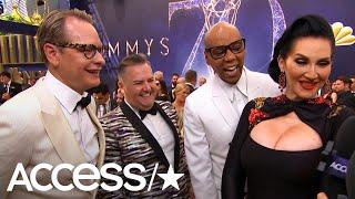 RuPaul & Leslie Jones Continue Love Fest As 2018 Emmy Presenters | Access