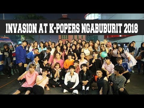 [270518] INVASION ALL MEMBERS AT K-POPERS NGABUBURIT 2018