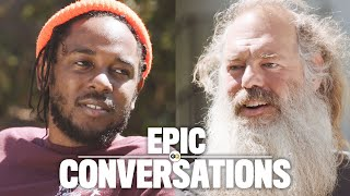 Kendrick Lamar Meets Rick Rubin and They Have an Epic Conversation | GQ
