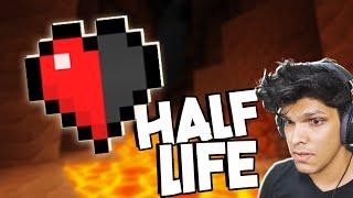 HALF HEART CHALLENGE (Minecraft)