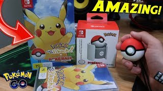 POKEMON LET'S GO PIKACHU + POKEBALL PLUS UNBOXING (WITH A HINT OF ASMR) - NINTENDO SWITCH