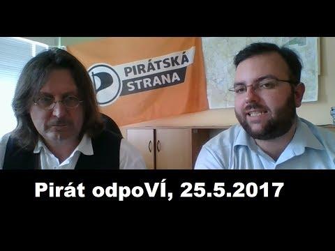 Pirát odpoVÍ, 25.5.2017