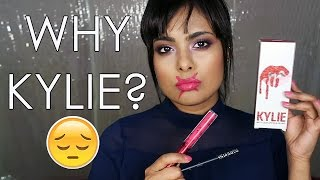 KYLIE LIPKIT HONEST Review (FAIL)+ Mini Storytime - Birthday DISASTER