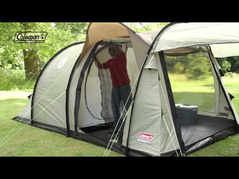 coleman mackenzie 4 family camping tent. Black Bedroom Furniture Sets. Home Design Ideas