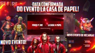 DATA CONFIRMADA DO EVENTO DE LA CASA DE PAPEL, NOVO EVENTO DE RECARGA,PASSE DE SETEMBRO E MUITO MAIS