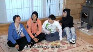 BIGBANG BIGSHOW 2010 1 day 2 nights & family outing parody part 4