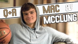 Mac McClung Q&A! Why Georgetown, Planning Dunks, Justin Bieber, Dislikes Yeezys & More!