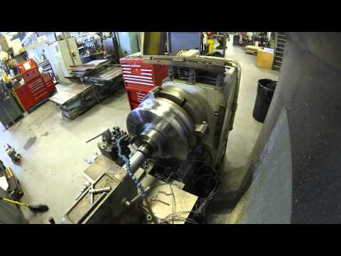 Lathe Machine: The making of a Trunnion Wheel