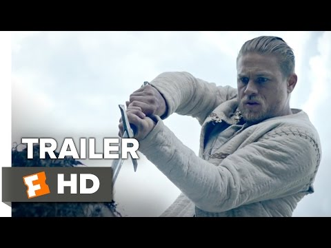 King Arthur: Legend of the Sword Official Comic-Con Trailer (2017)
