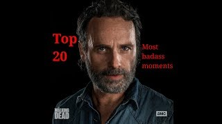 Rick grimes-Top 20 most badass moments