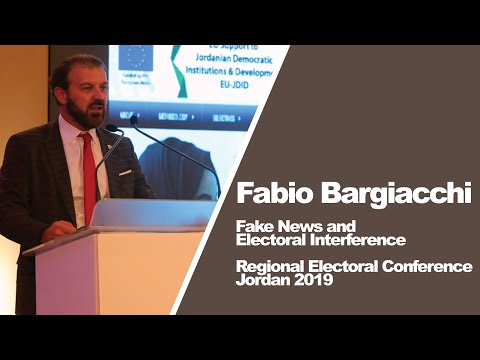 Fabio Bargiacchi on Fake News and Electoral Interference