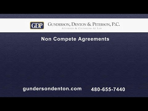 Non Compete Agreements | Sterling Peterson