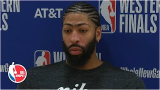 Anthony Davis takes blame for Game 3 loss to Nuggets: 'I have to be better' | 2020 NBA Playoffs