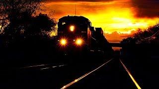 Train Sound for Deep Sleep 10 hours. Knocking Train Wheels / Успокаивающий стук колес поезда