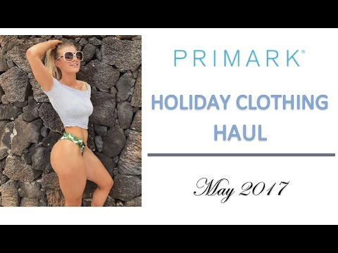 PRIMARK HOLIDAY CLOTHING HAUL | Try on!