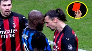 When Great Players Get Angry It's a Danger 😠.. Ibrahimovic ● Lukaku ● Messi ● Ronaldo ● Neymar Ramos