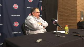SVG reacts to Pistons' 112-92 win over Knicks