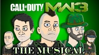 ♪ CALL OF DUTY: MW3 THE MUSICAL - Animated Parody Song