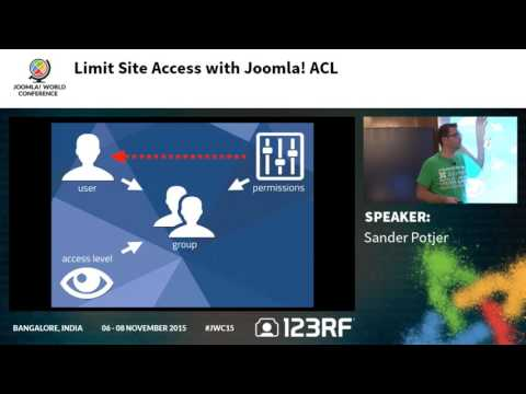 JWC15 - Limit site access with Joomla ACL