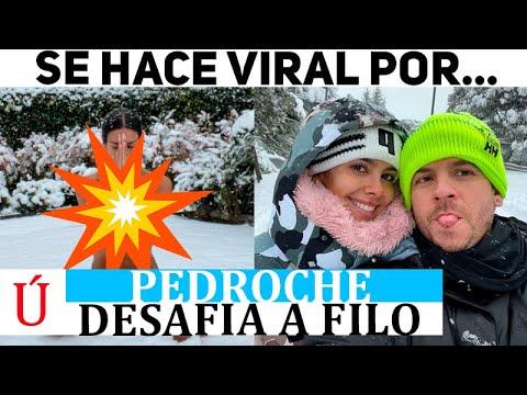 Lo que ha hecho Cristina Pedroche en pleno temporal de nieve en Madrid y todo el mundo comenta