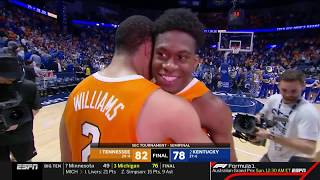2018-2019 Tennessee vs. Kentucky Highlights (SEC Tournament)