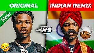 POPULAR RAP SONGS vs. INDIAN REMIXES