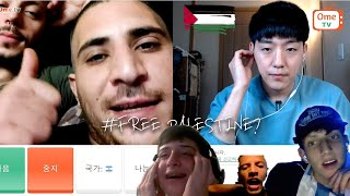 What if Isr4el see a Korean guy who support Palestine? | OME.TV
