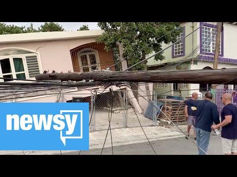 5.8 magnitude earthquake hits Puerto Rico