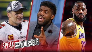 LeBron James has had a more impressive career than Tom Brady — Acho | SPEAK FOR YOURSELF