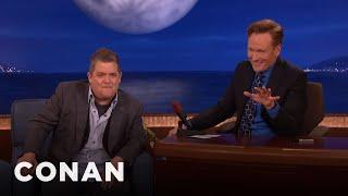Conan Tells Viewers To Turn On David Letterman  - CONAN on TBS