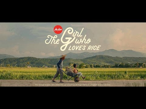 AirAsia Gawai & Kaamatan 2019   The Girl Who Loves Rice