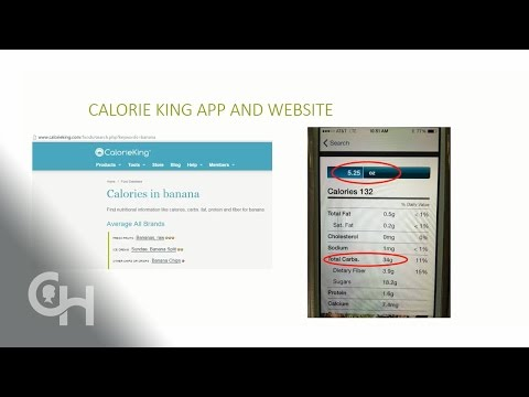 Using Carb Counting Apps and Websites