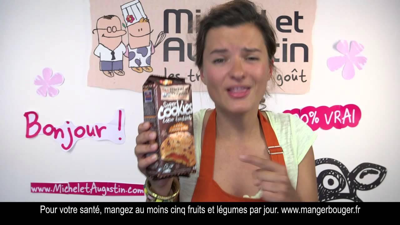 Publicité Michel et Augustin – les cookies cœur fondant