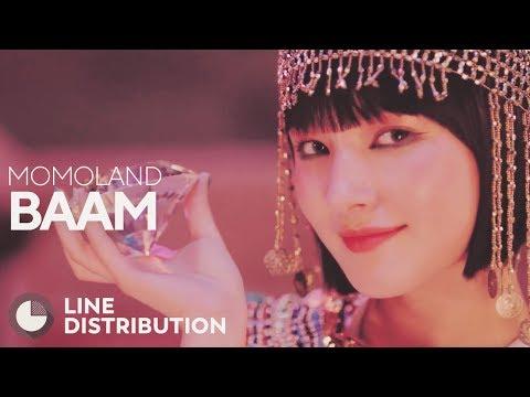 MOMOLAND - BAAM (Line Distribution)