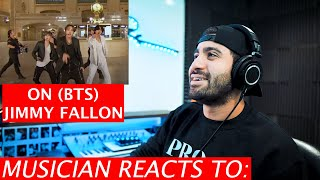 Musician Reacts To ON (Live) | BTS | Jimmy Fallon