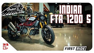 2019 Indian FTR 1200 S | First Ride