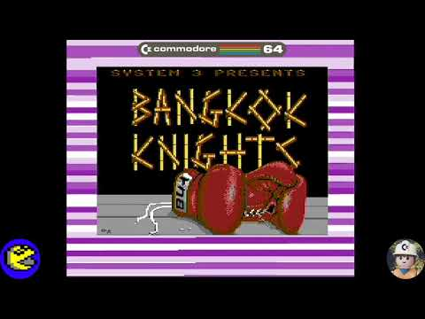 Bangkok Knights loader, Commodore 64 - Real por S-Video
