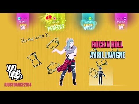 Baixar Avril Lavigne - Rock N Roll   Just Dance 2014   DLC Gameplay