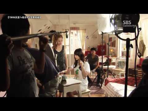 2012-07-26 雪莉@致美麗的你 現場拍攝花絮中字 (後有李玹雨出現)