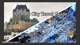 Most GORGEOUS Winter Wonderland in North America?!   Quebec City Christmas   Modern Travel Guide