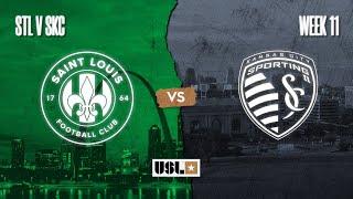 Saint Louis FC vs. Sporting Kansas City II: September 4, 2020